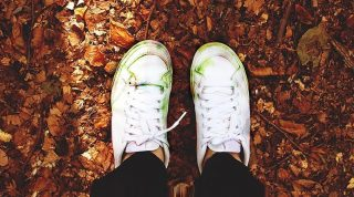 Easy Ways to Get Grass Stains Out of White Shoes