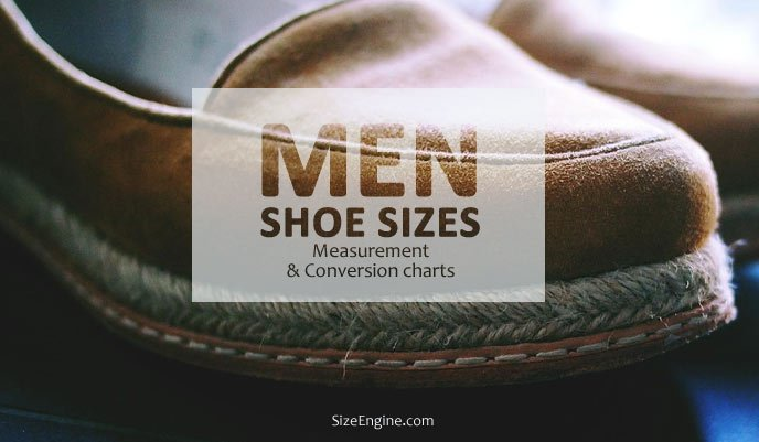 Men Shoe Size Guide