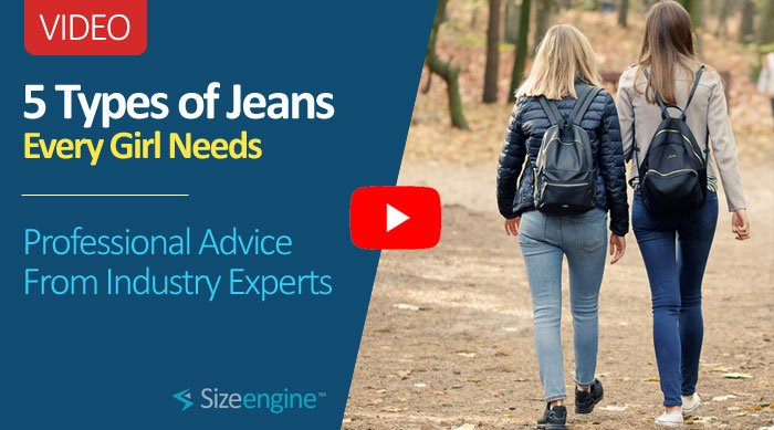 5 Types of Jeans Every Girl Needs