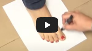 Measure Adult Feet At Home
