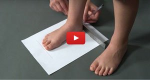 How to Measure Children Feet at Home